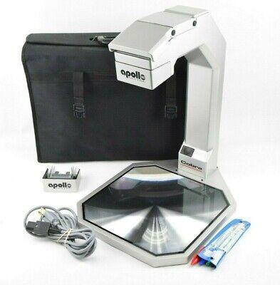 Apollo Cobra Vs3000 Portable Overhead Projector W Markers And Case