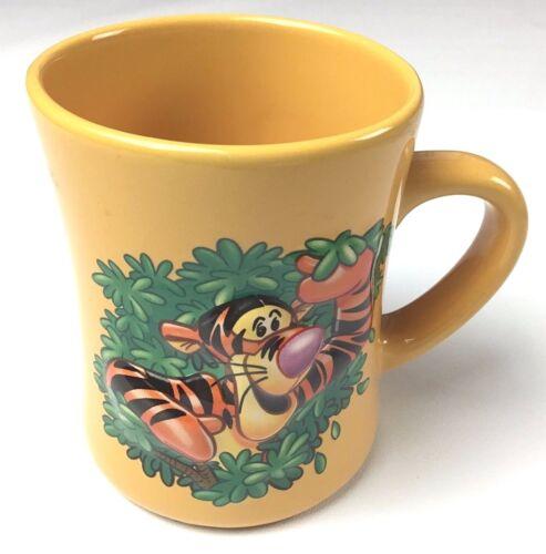 Disney Store Winnie the Pooh 3D Tiger Large Orange Coffee Mug Cup