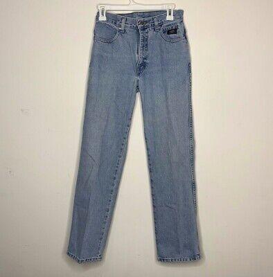 HARLEY DAVIDSON Denim BLUE JEAN PANTS Women Size 6R Bootcut