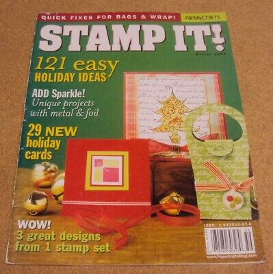 Paper Crafts - Stamp It! Magazine Winter 2005 - 121 Easy Holiday Ideas Designs](Paper Crafts Ideas)