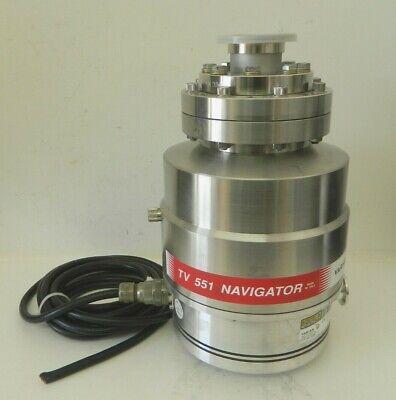 Agilent Technologies Varian Tv 551 Navigator Turbo Vacuum Pump Model 9698925