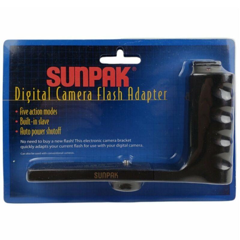 New Sunpak Digital Camera Flash Adapter