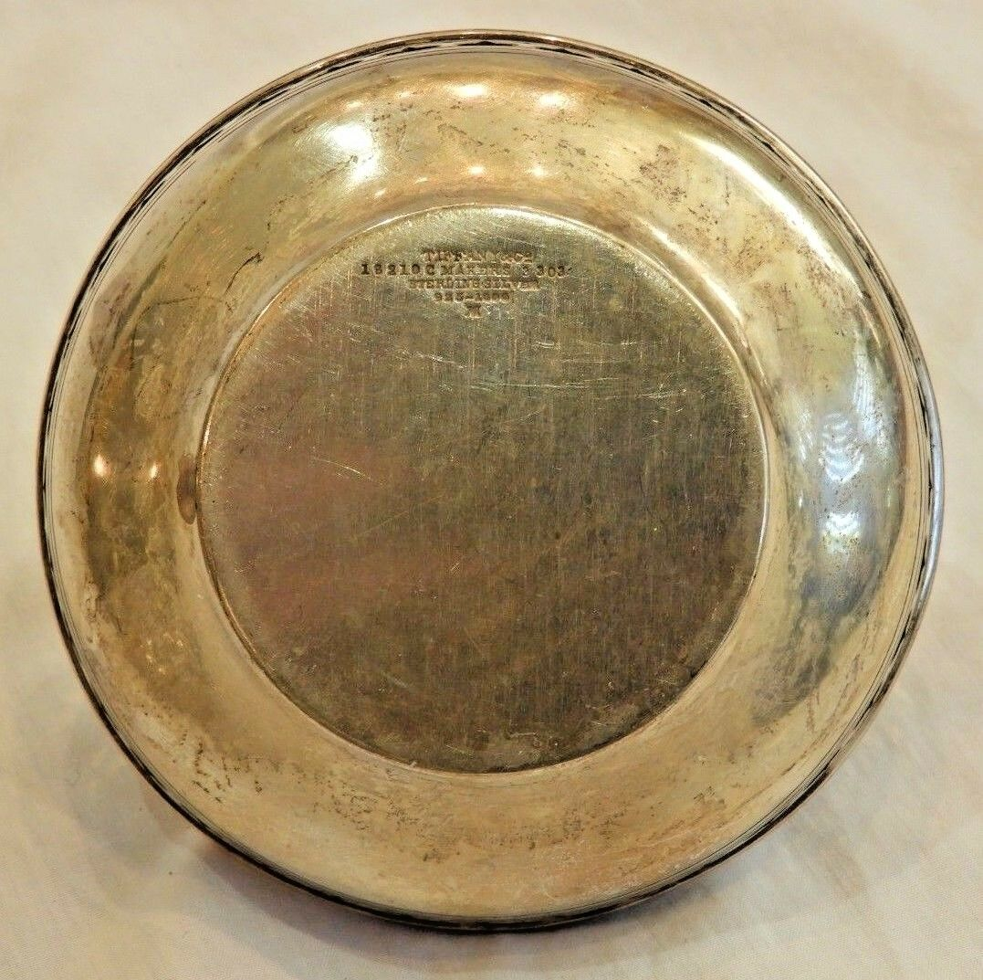 Vintage Tiffany Co. Sterling Silver Decorative Dish Or Basket - $239.20