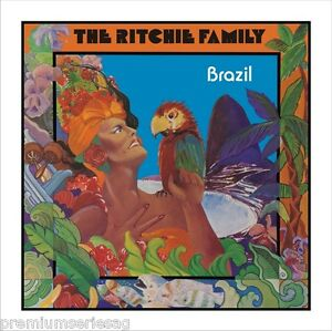 Ritchie Family • Brazil Dance With Me New Import 24 Bit Remastered CD Expanded