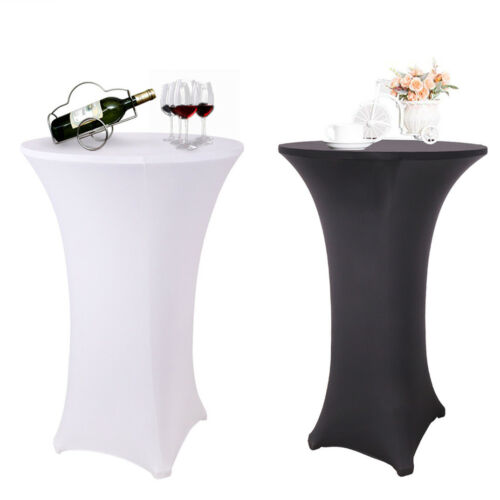 Elastic Cocktail Round Fitted Stretch Spandex Table Cover Cl