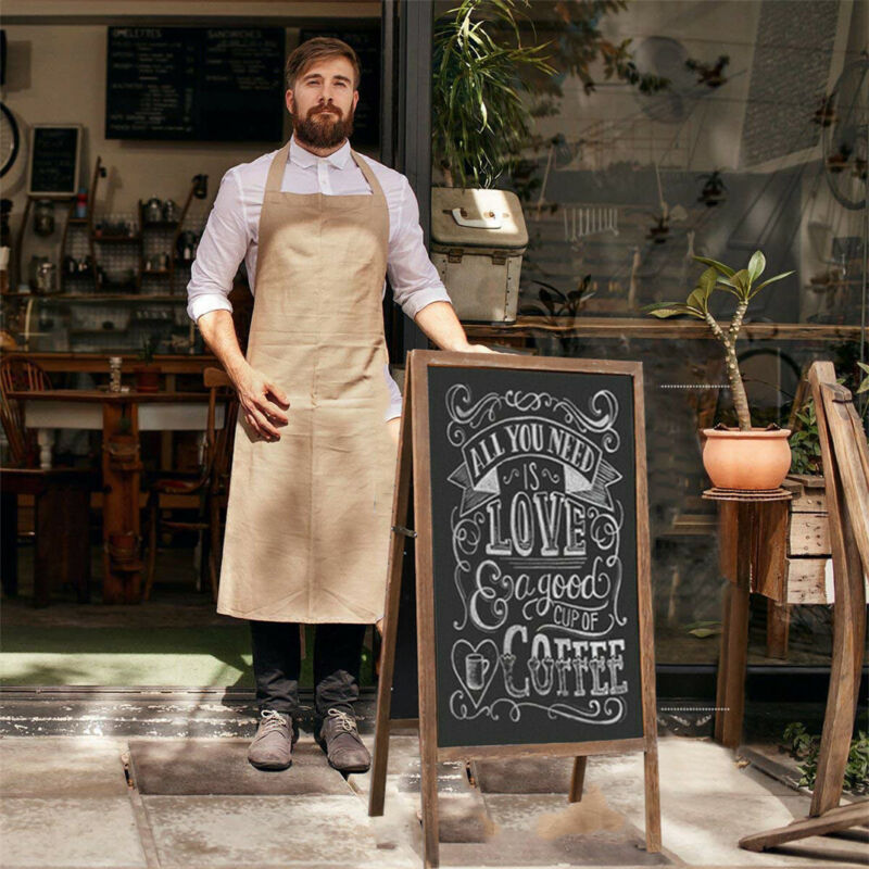 """Cafe A-Frame Chalkboard Sign Extra Large 40"""" Free Standing Board Easel Sturdy US"""