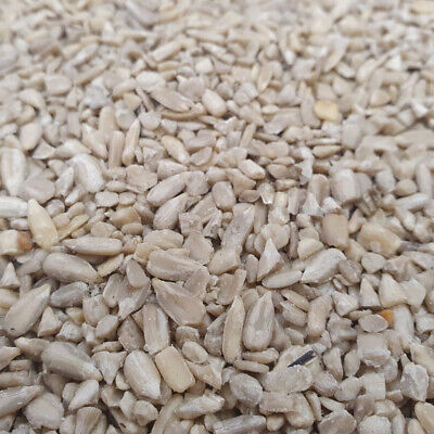 12.5 kg Sunflower Hearts Chips for Wild Bird Husk Free Garden Bird Food