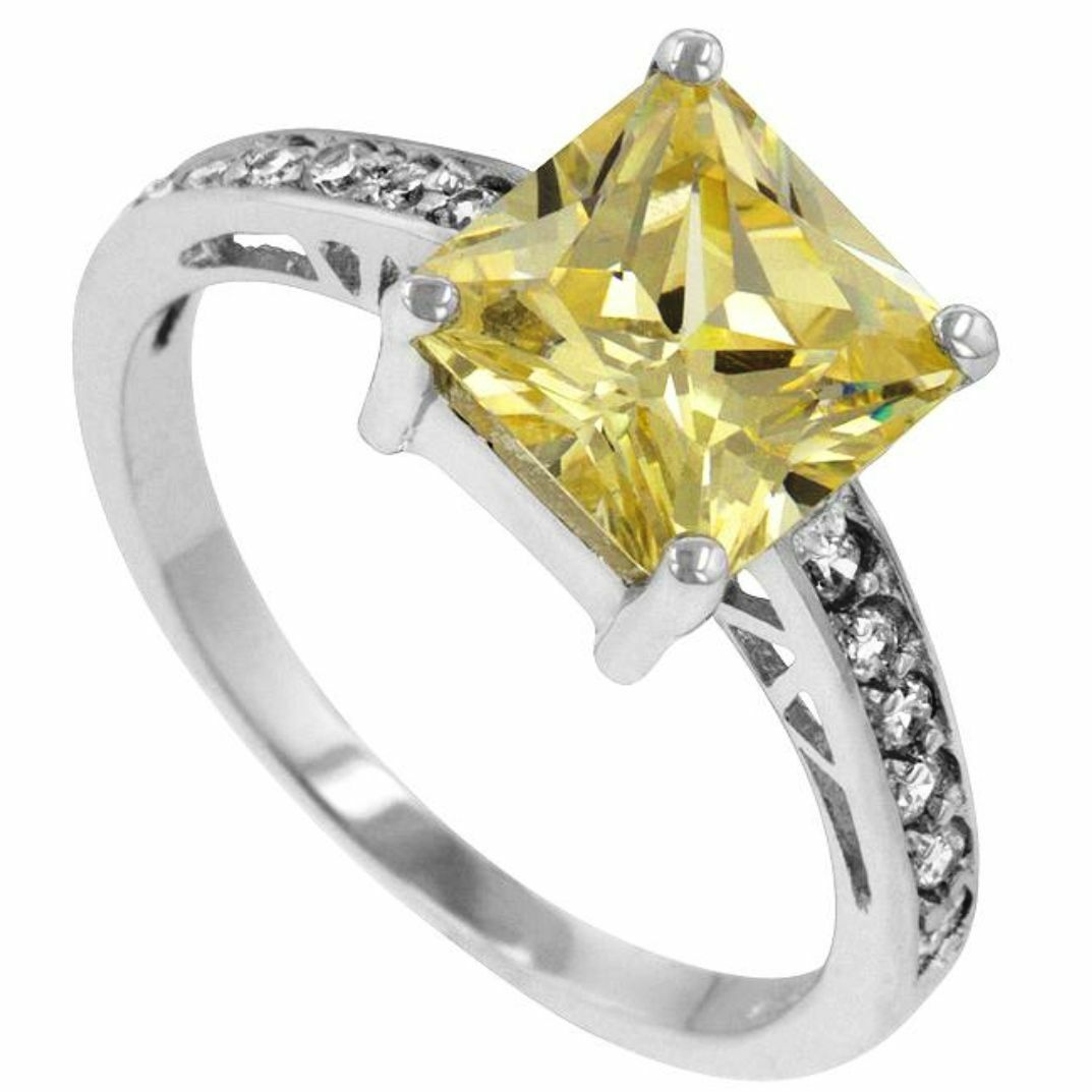 canary yellow diamond alternat... Image 4