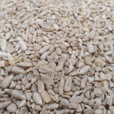 25 kg Sunflower Hearts Chips Wild Bird Husk Free Garden Bird Food (2 x 12.55kg)