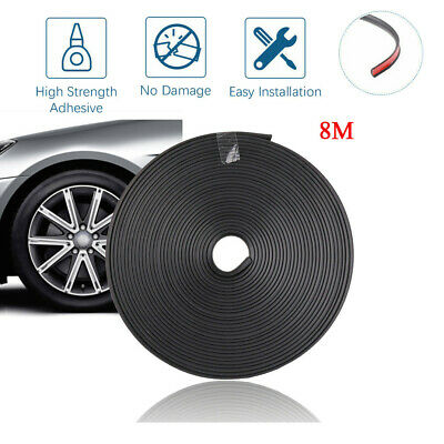 3 Wheeled Kit Car - 8M Pro Car Wheel Rim Edge Protector Sticker Tire Guard Rubber Strip Kit Durable