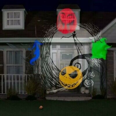 Disney Nightmare Before Christmas Whirl-a-Motion Halloween Lightshow Projector