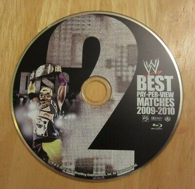 WWE BEST PAY PER VIEW MATCHES 2009-2010  (BLU-RAY)  DISC 2