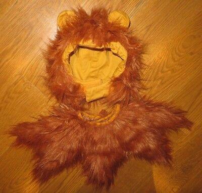 Furry Mane/Headpiece Wizard of Oz-COWARDLY LION/SIMBA) HALLOWEEN COSTUME Toddler](Simba Halloween Costume Toddler)