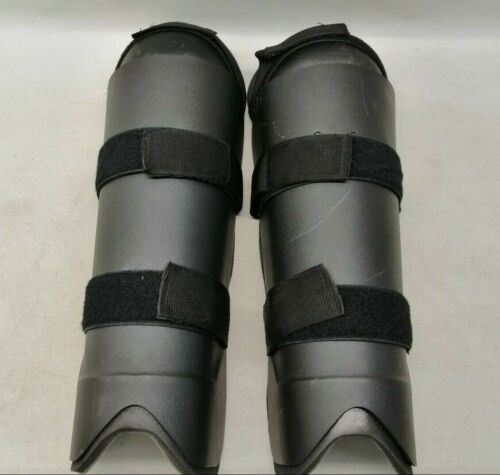 Ex Police Knee & Shin Riot Guards Uniform Patrol Duty Security Airsoft Paintball