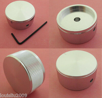 1pc High Quality Aluminum Audio Rotary Pots Knob 40x20mm 40mm