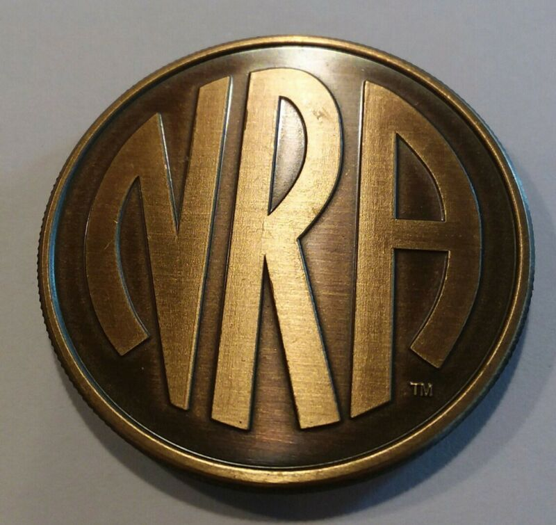 NRA National Rifle Association Thomas Jefferson Bronze Challenge Coin