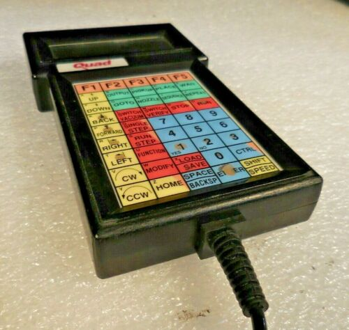 Quad Model 8045R2-1-PW Pick and Place Programming Terminals Controller