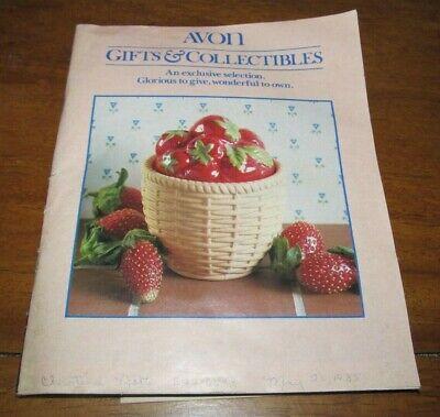 "CHRISTMAS AVON GIFTS Vintage 1985 5.5"" X 7"" Magazine Ads Seller Book"