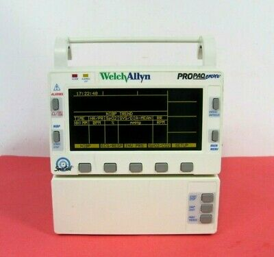 Welch Allyn Propaq Encore Model 206 El Patient Monitor Option 225 Free Ship