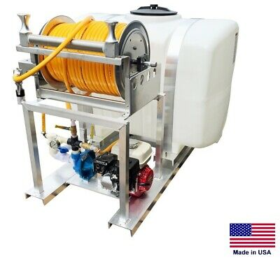 Sprayer Commercial - Skid Mounted - 10 Gpm - 50 Psi - 5.5 Hp - 200 Gallon Tank