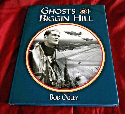 GHOSTS OF BIGGIN HILL. Bob Ogley. 2001. Fully Illustrated. Hardback with D/W.