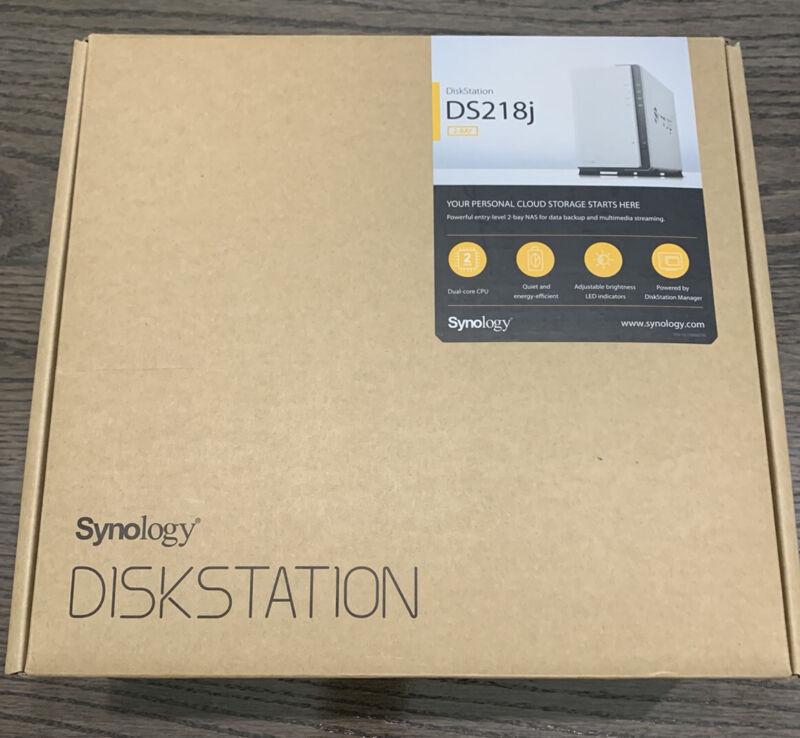 Synology 2 bay NAS DiskStation DS218j (Diskless)