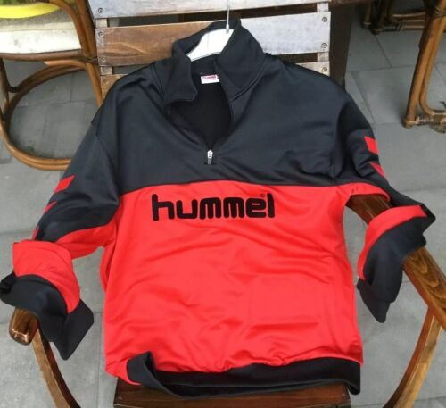 Hummel L Sport Anzug Schwarz/Rot