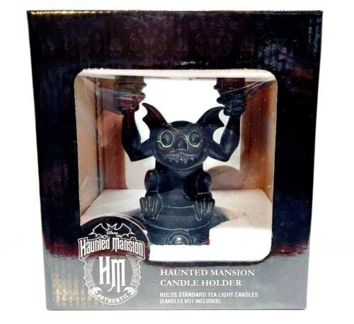 NWT Disney The Haunted Mansion Gargoyle Candle Holder Resin Candelabra
