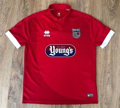 Grimsby Town 2016 - 2017 rare away shirt size S image