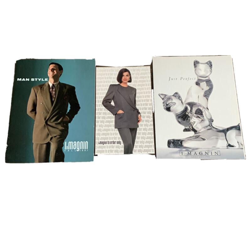 1990's I.Magnin Store Catalogs Vintage Summer & Fall Fashion Models & Clothing