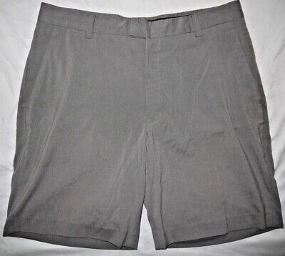 Mens Gray NIKE GOLF Tiger Woods Collection Golf Shorts size 36