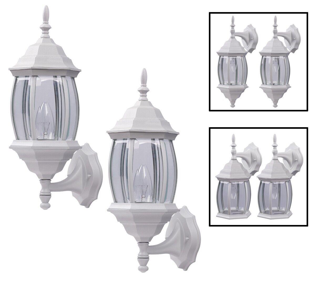 Outdoor Exterior Wall Light Fixture Lantern Downlight/Upligh