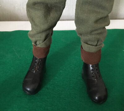 vintage action man Army Gaiters, Puttees Brand New Repro VAM GI ,G I , JOE luk c