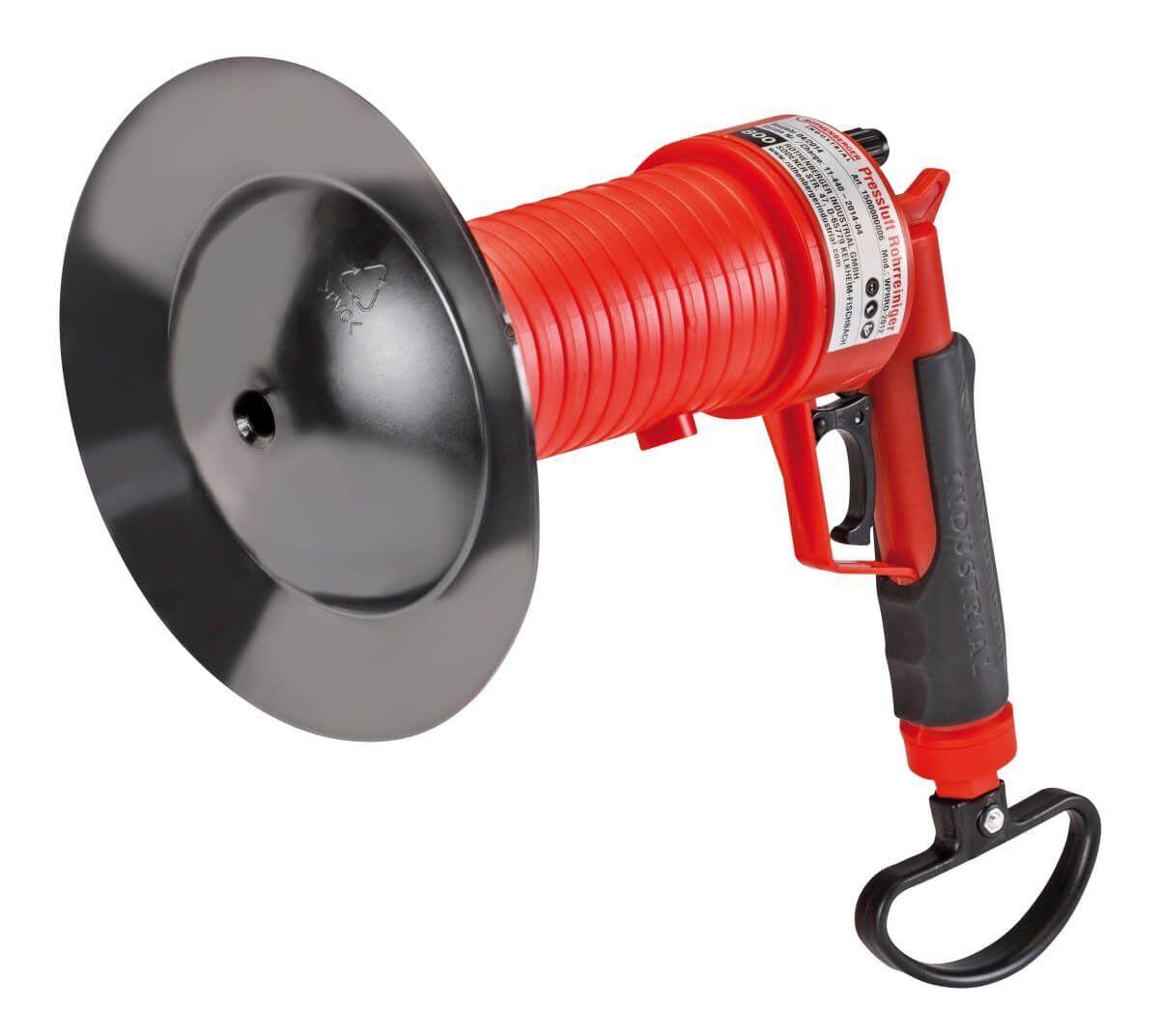 Pressluft Rohrreiniger Abflussreiniger 3 Bar Rohrreinigung mit Druckluft Pumpe