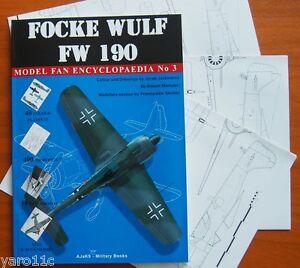 Focke Wulf FW 190 - Model Fan Encyclopaedia No 3 - <span itemprop=availableAtOrFrom>Reda, Polska</span> - Zwroty są przyjmowane - Reda, Polska