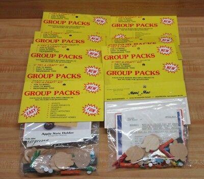 Lot of 10 Apple Note Holders Magnets Kids' Group Craft Kits Mac Enterprises (Note Holders Craft Kit)