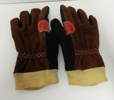 Dragon Fire Structural Fire Fighting Protective Gloves Size Medium