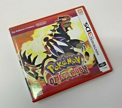 POKEMON OMEGA RUBY - Nintendo 3DS - Great Condition