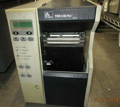 Zebra Thermal Label Printer 110 Xiiii Plus 300dpi 113 701 00200