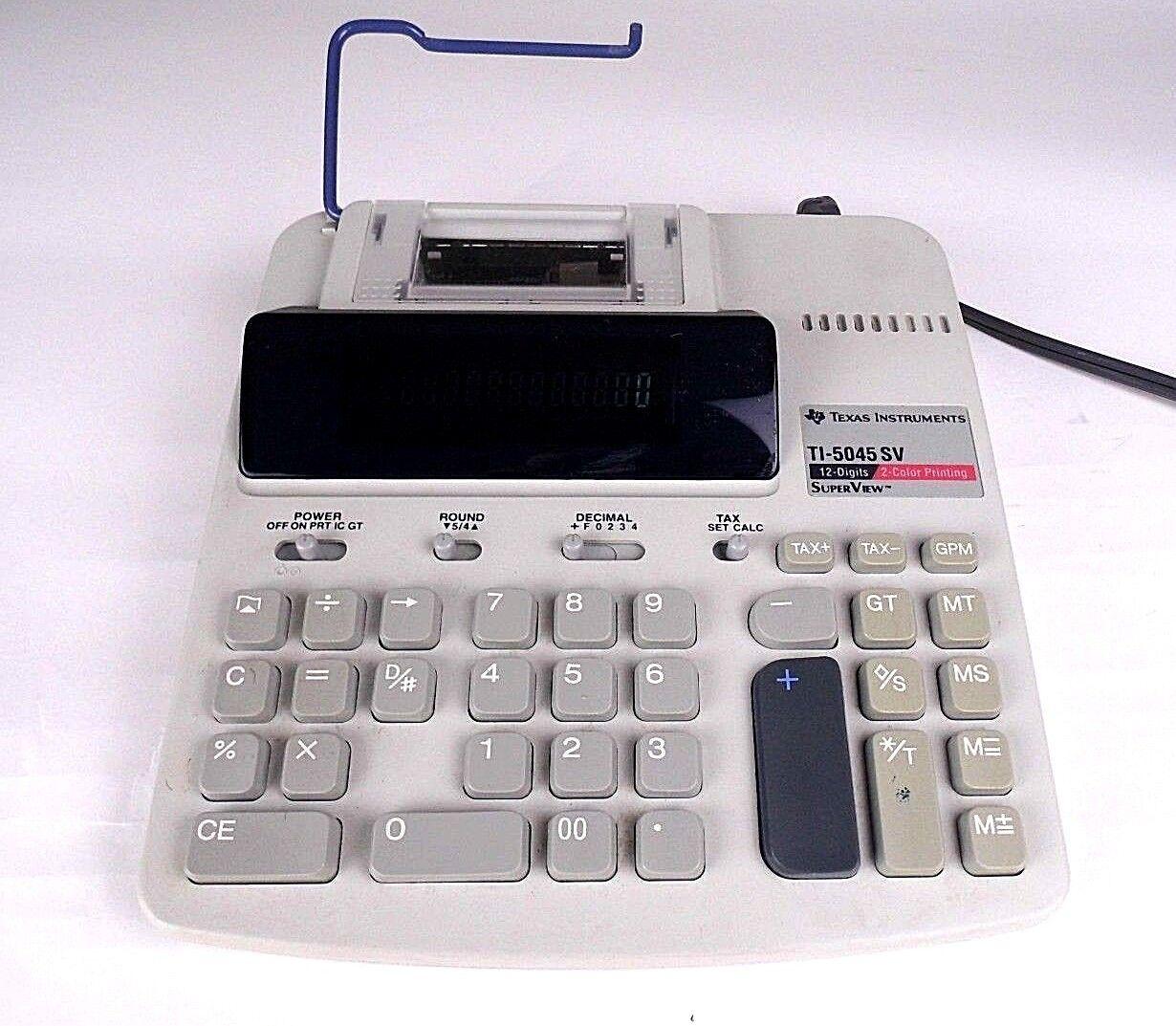 Texas Instruments Electronic Calculator TI-5045 SV - 12 Digits
