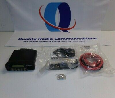 Motorola Cdm1550 136-174 Mhz Vhf 25w Two Way Radio W Mic Aam25kkf9aa5an