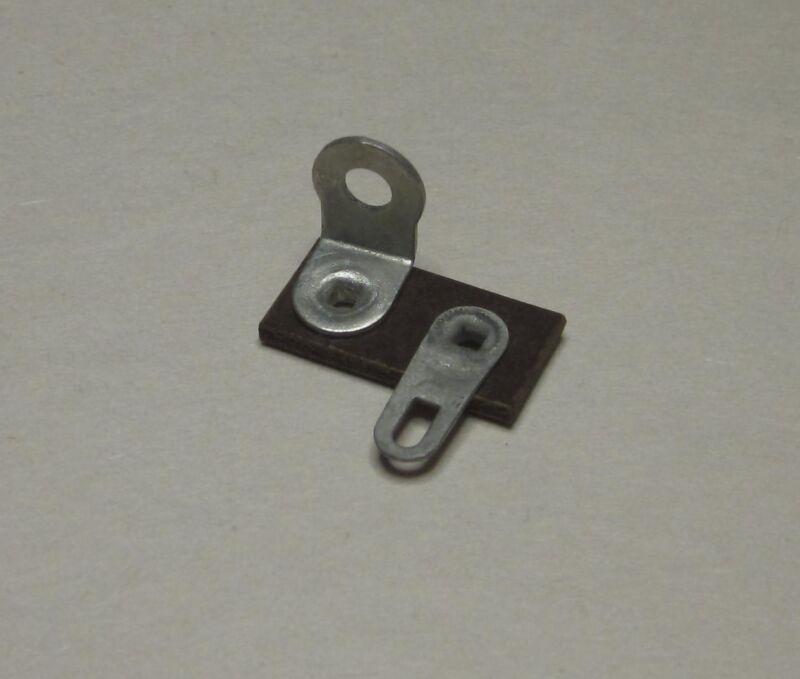 ( 2x ) Terminal strip, Single lug pole, phenolic with solder lugs