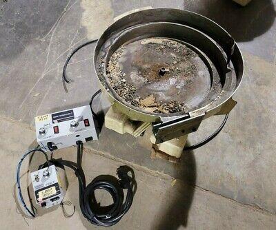 Parts Feeders Inc B-18 Vibratory Feeder Bowl Wrodix Feeder Cube Bowl Control