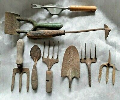 Vintage Garden Hand Tools