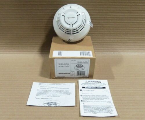 New In Box EST SIGA-COD Detector Intelligent CO Sensor Fire Alarm