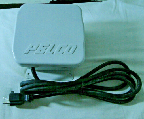 Pelco WCS1-4 Environmental Power Supply With Power Cord