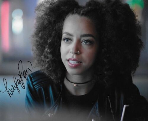 * HAYLEY LAW * signed autographed 8x10 photo * RIVERDALE * 2