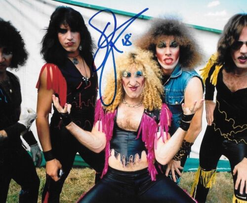 * DEE SNIDER * signed autographed 8x10 photo * TWISTED SISTER * PROOF *  1
