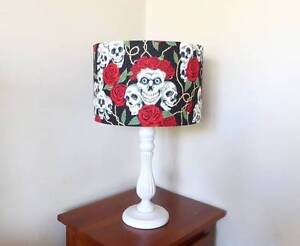 NEW Skull and Roses Table Lamp Rockingham Rockingham Area Preview