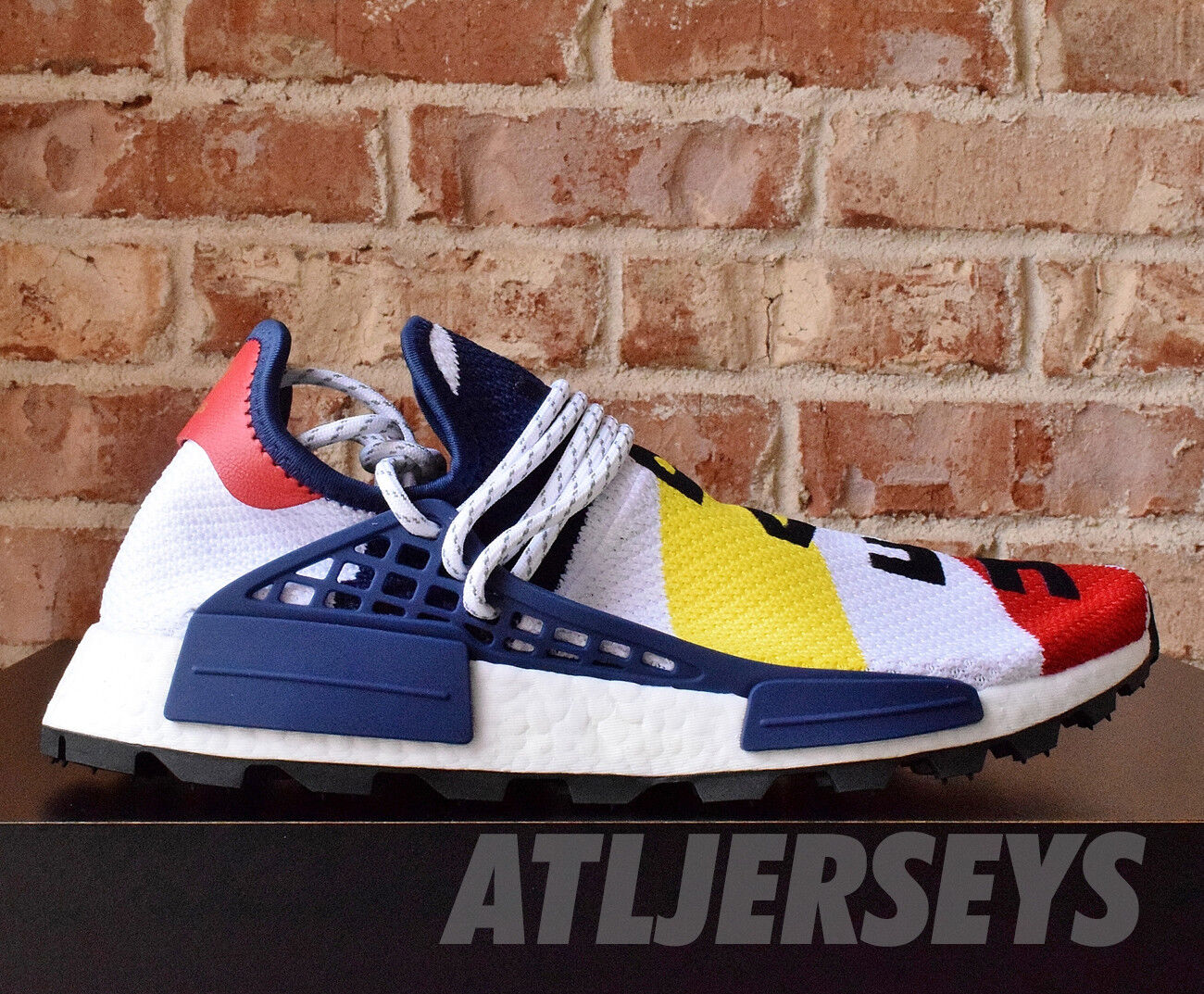 e09289863d8f4 Athletic Shoes Billionaire Boys Club x Adidas Nmd Hu Pharrell 8-13 BBC  Human Race BB9544 ...